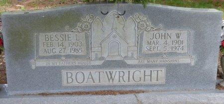 BOATWRIGHT, JOHN W - Colbert County, Alabama   JOHN W BOATWRIGHT - Alabama Gravestone Photos