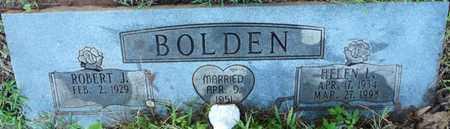 BOLDEN, ROBERT J - Colbert County, Alabama | ROBERT J BOLDEN - Alabama Gravestone Photos