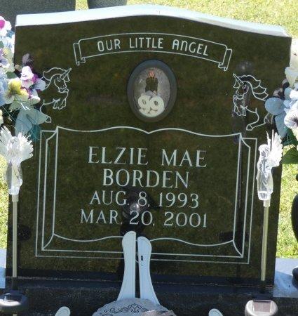 BORDEN, ELZIE MAE - Colbert County, Alabama | ELZIE MAE BORDEN - Alabama Gravestone Photos