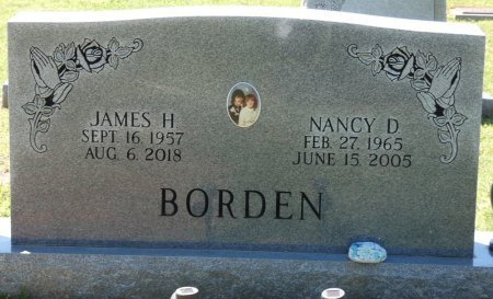 BORDEN, NANCY DIANNE - Colbert County, Alabama | NANCY DIANNE BORDEN - Alabama Gravestone Photos
