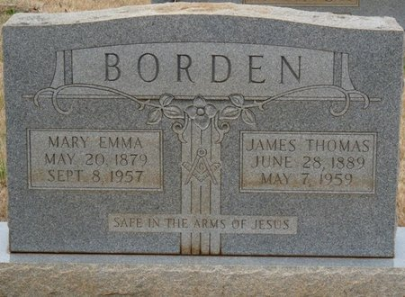 BORDEN, JAMES THOMAS - Colbert County, Alabama   JAMES THOMAS BORDEN - Alabama Gravestone Photos