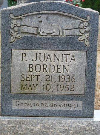 BORDEN, P. JUANITA - Colbert County, Alabama | P. JUANITA BORDEN - Alabama Gravestone Photos