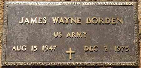 BORDEN (VETERAN), JAMES WAYNE - Colbert County, Alabama   JAMES WAYNE BORDEN (VETERAN) - Alabama Gravestone Photos