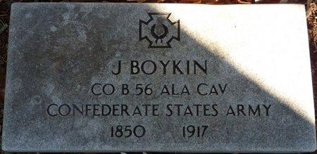 BOYKIN (VETERAN CSA), JOHN BOYD - Colbert County, Alabama | JOHN BOYD BOYKIN (VETERAN CSA) - Alabama Gravestone Photos