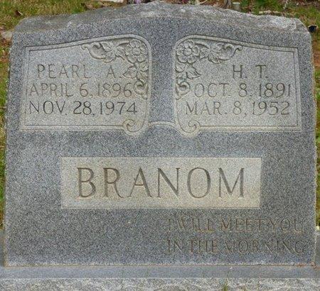 BRANOM, H.T. - Colbert County, Alabama   H.T. BRANOM - Alabama Gravestone Photos