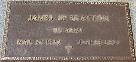 BRATTON JR. (VETERAN), JAMES - Colbert County, Alabama | JAMES BRATTON JR. (VETERAN) - Alabama Gravestone Photos