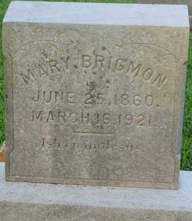 BRIGMON, MARY - Colbert County, Alabama | MARY BRIGMON - Alabama Gravestone Photos