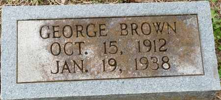 BROWN, GEORGE - Colbert County, Alabama | GEORGE BROWN - Alabama Gravestone Photos