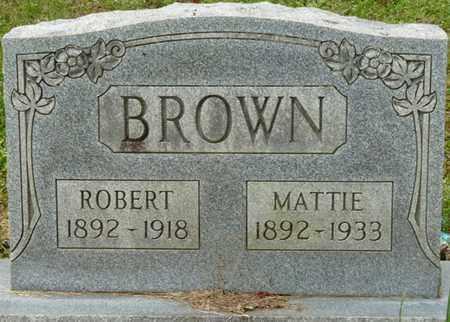 BROWN, MATTIE - Colbert County, Alabama   MATTIE BROWN - Alabama Gravestone Photos