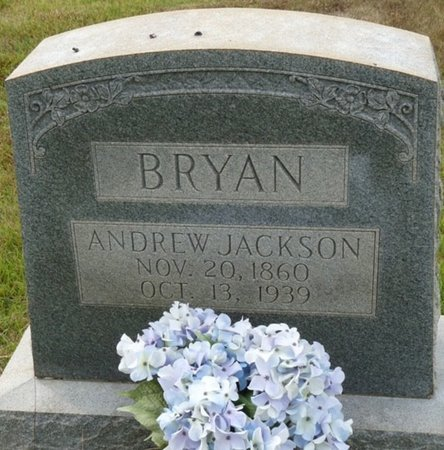 BRYAN, ANDREW JACKSON - Colbert County, Alabama   ANDREW JACKSON BRYAN - Alabama Gravestone Photos