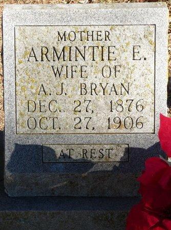 BRYAN, ARMINTIE E - Colbert County, Alabama | ARMINTIE E BRYAN - Alabama Gravestone Photos