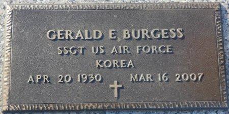 BURGESS (VETERAN KOR), GERALD E (NEW) - Colbert County, Alabama | GERALD E (NEW) BURGESS (VETERAN KOR) - Alabama Gravestone Photos