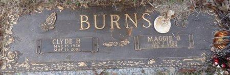 BURNS, CLYDE HERMAN - Colbert County, Alabama | CLYDE HERMAN BURNS - Alabama Gravestone Photos