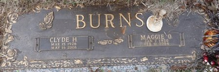 BURNS, MAGGIE CARDELIA - Colbert County, Alabama   MAGGIE CARDELIA BURNS - Alabama Gravestone Photos