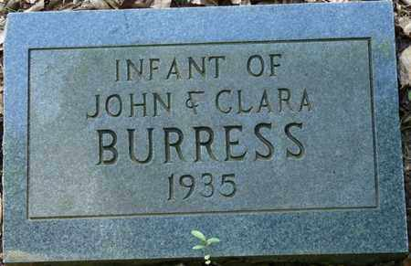 BURRESS, INFANT - Colbert County, Alabama | INFANT BURRESS - Alabama Gravestone Photos