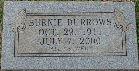 BURROWS, BURNIE - Colbert County, Alabama   BURNIE BURROWS - Alabama Gravestone Photos