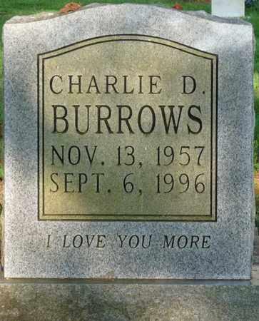 BURROWS, CHARLIE D - Colbert County, Alabama   CHARLIE D BURROWS - Alabama Gravestone Photos