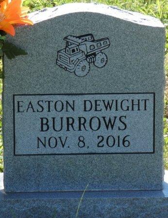 BURROWS, EASTON DEWIGHT - Colbert County, Alabama | EASTON DEWIGHT BURROWS - Alabama Gravestone Photos