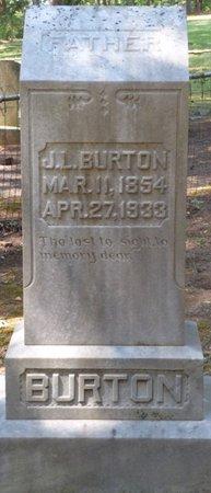 BURTON, JOHN LEWIS - Colbert County, Alabama | JOHN LEWIS BURTON - Alabama Gravestone Photos