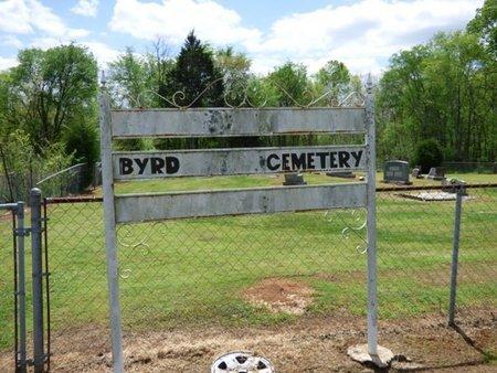 *BYRD, CEMETERY - Colbert County, Alabama | CEMETERY *BYRD - Alabama Gravestone Photos