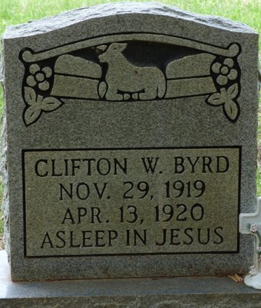 BYRD, CLIFTON W - Colbert County, Alabama | CLIFTON W BYRD - Alabama Gravestone Photos