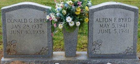 BYRD, ALTON F - Colbert County, Alabama | ALTON F BYRD - Alabama Gravestone Photos