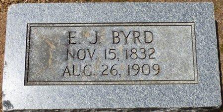 BYRD, E.J. - Colbert County, Alabama | E.J. BYRD - Alabama Gravestone Photos