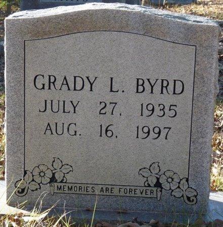 BYRD, GRADY L - Colbert County, Alabama | GRADY L BYRD - Alabama Gravestone Photos