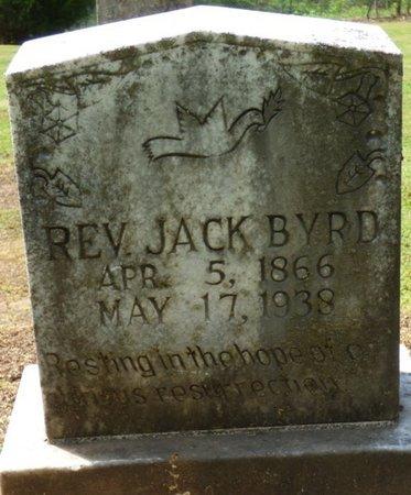 BYRD, JACK - Colbert County, Alabama | JACK BYRD - Alabama Gravestone Photos
