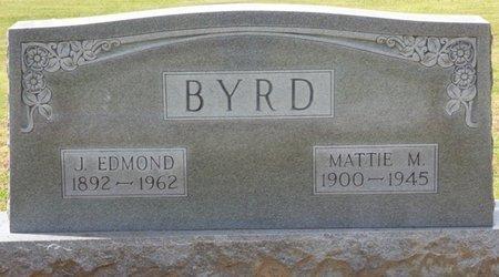 DILLARD BYRD, MATTIE MELISSA - Colbert County, Alabama   MATTIE MELISSA DILLARD BYRD - Alabama Gravestone Photos