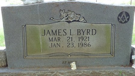 BYRD, JAMES LAWRENCE - Colbert County, Alabama | JAMES LAWRENCE BYRD - Alabama Gravestone Photos