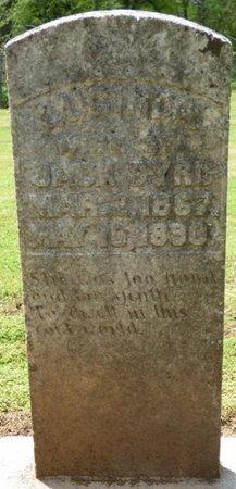 BYRD, LUCINDA - Colbert County, Alabama | LUCINDA BYRD - Alabama Gravestone Photos