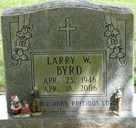 BYRD, LARRY W - Colbert County, Alabama | LARRY W BYRD - Alabama Gravestone Photos