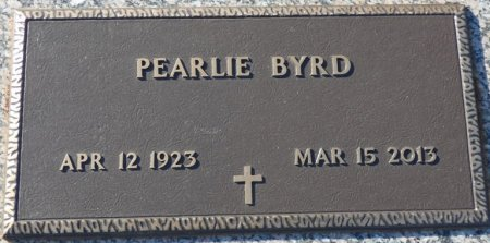 BYRD, PEARLIE - Colbert County, Alabama | PEARLIE BYRD - Alabama Gravestone Photos