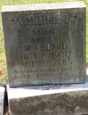 BYRD, SUSIE - Colbert County, Alabama | SUSIE BYRD - Alabama Gravestone Photos