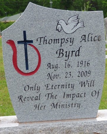 BYRD, THOMPSY ALICE - Colbert County, Alabama | THOMPSY ALICE BYRD - Alabama Gravestone Photos