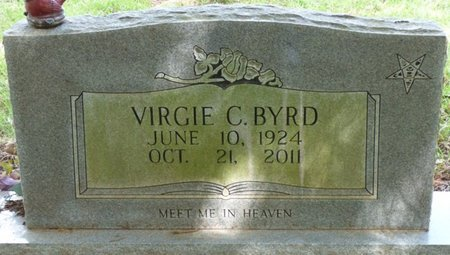 BYRD, VIRGIE CHRISTINE - Colbert County, Alabama | VIRGIE CHRISTINE BYRD - Alabama Gravestone Photos