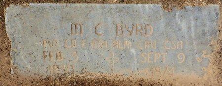 BYRD (VETERAN CSA), MICHAEL CICERO - Colbert County, Alabama | MICHAEL CICERO BYRD (VETERAN CSA) - Alabama Gravestone Photos