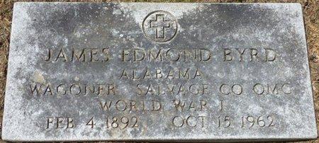 BYRD (VETERAN WWI), JAMES EDMOND - Colbert County, Alabama | JAMES EDMOND BYRD (VETERAN WWI) - Alabama Gravestone Photos