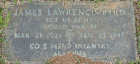 BYRD (VETERAN WWII), JAMES LAWRENCE - Colbert County, Alabama | JAMES LAWRENCE BYRD (VETERAN WWII) - Alabama Gravestone Photos