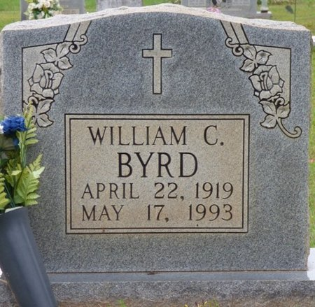 BYRD, WILLIAM C - Colbert County, Alabama | WILLIAM C BYRD - Alabama Gravestone Photos