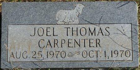 CARPENTER, JOEL THOMAS - Colbert County, Alabama | JOEL THOMAS CARPENTER - Alabama Gravestone Photos