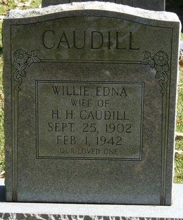 CAUDILL, WILLIE EDNA - Colbert County, Alabama | WILLIE EDNA CAUDILL - Alabama Gravestone Photos