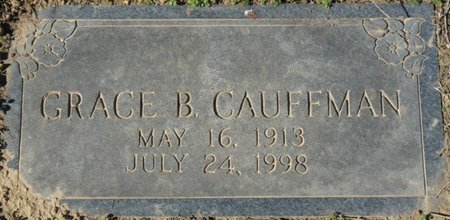 CAUFFMAN, GRACE B - Colbert County, Alabama | GRACE B CAUFFMAN - Alabama Gravestone Photos
