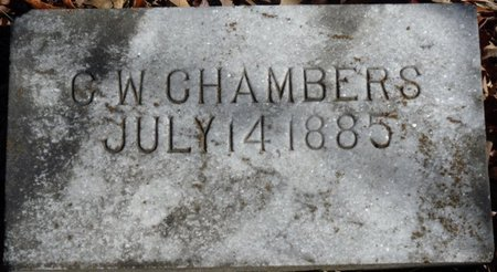 CHAMBERS, CHARLES WALLACE - Colbert County, Alabama | CHARLES WALLACE CHAMBERS - Alabama Gravestone Photos