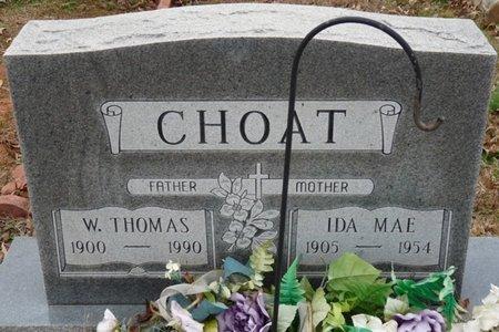 CROY CHOAT, IDA MAE - Colbert County, Alabama   IDA MAE CROY CHOAT - Alabama Gravestone Photos