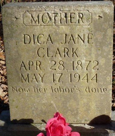 CLARK, DICA JANE - Colbert County, Alabama | DICA JANE CLARK - Alabama Gravestone Photos