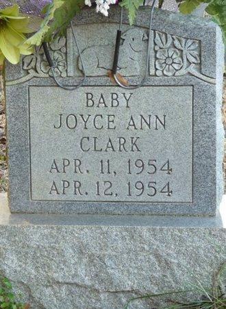CLARK, JOYCE ANN - Colbert County, Alabama | JOYCE ANN CLARK - Alabama Gravestone Photos