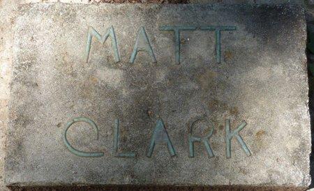 CLARK, MATT - Colbert County, Alabama   MATT CLARK - Alabama Gravestone Photos