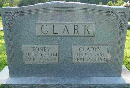 CLARK, TONEY - Colbert County, Alabama | TONEY CLARK - Alabama Gravestone Photos